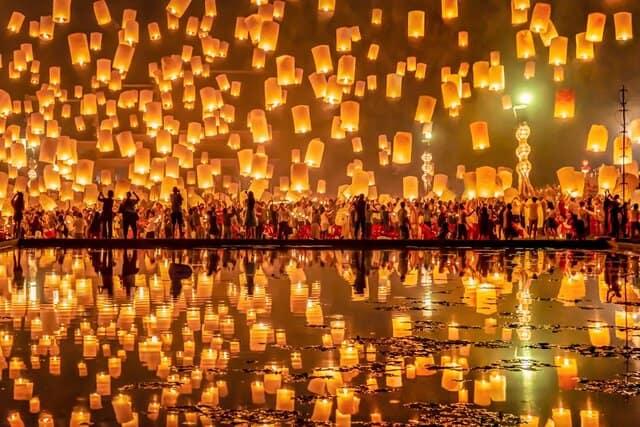 Quali sono i migliori festival della luce in tutto il mondo?