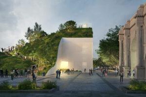 Londra: in arrivo la nuova installazione Marble Arch Hill