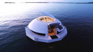 Anthénea: la prima suite ecosostenibile e galleggiante al mondo